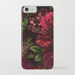 Mystical Night Roses iPhone Case
