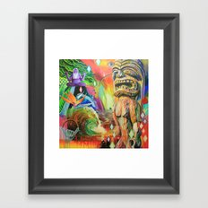 Hang Loose Framed Art Print