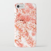 cherry blossoms iPhone & iPod Cases featuring Cherry Blossoms by 2sweet4words Designs