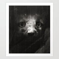 mouse Art Prints featuring Mouse by zumzzet