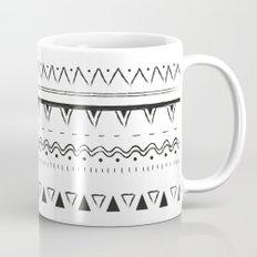 White&Black pattern Mug