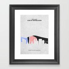 Lost in Translation Framed Art Print