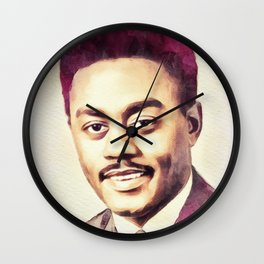 Johnnie Taylor, Music Legend Wall Clock