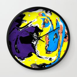 Marbled IV Wall Clock