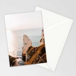 France Normandia Etretat Coastal photo Stationery Cards
