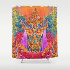 Goddess of the Night Shower Curtain