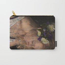 Flower Princess Carry-All Pouch