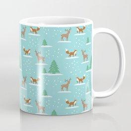 Woodland Winter cute pattern Coffee Mug