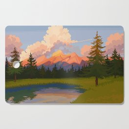 Mirror Lake Cutting Board