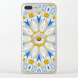 Daisy Chain Kaleidoscope A151 Clear iPhone Case