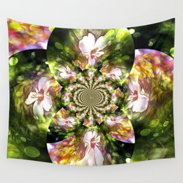 Magical Inspirations Of Spring Time Wall Tapestry