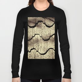 Cracked Paint on Shingles. Long Sleeve T-shirt