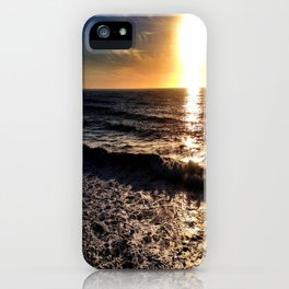 "Hermosa Beach ""On the Pier"" iPhone Case"