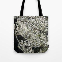 Blooming wild plum Tote Bag