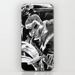 """Milkbread"" band poster iPhone Skin"