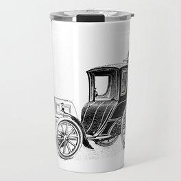 Antique Automobile Taxi Travel Mug