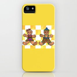 The Gingerbread Twins iPhone Case