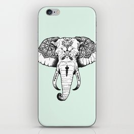 Elephant Tattooed iPhone Skin