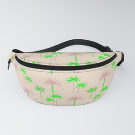 Palm Trees - Green & Neutral Fanny Pack