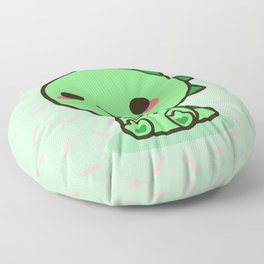 Kawaii dinosaur Floor Pillow