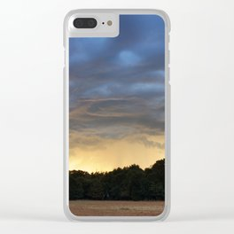 Sunrise Over Sparks, Oklahoma Clear iPhone Case