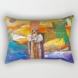 In Stillness, Lies Wisdom Rectangular Pillow