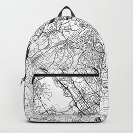 Basel Map Gray Backpack