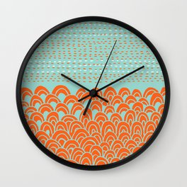 Infinite Wave Wall Clock