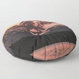 Mt Hood Adventure - 102/365 Nature Photography Floor Pillow