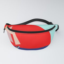 Sailing in May with May - shoes stories Fanny Pack
