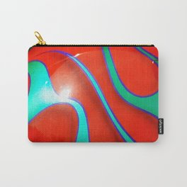 Flaming Red Hot Rod Carry-All Pouch