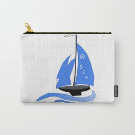 Ship at Sea Carry-All Pouch