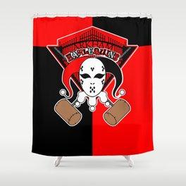 Arkham Harlequins Shower Curtain
