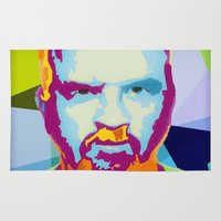 louis Area & Throw Rugs featuring Louis CK by Danielle DePalma