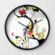AROUND MY MIND Wall Clock