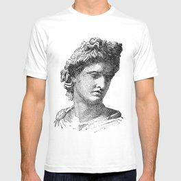 Portrait of Apollo Belvedere T-shirt