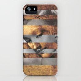 "Leonardo's ""Head of a Woman"" & Marylin Monroe iPhone Case"