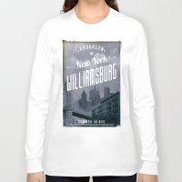 brooklyn Long Sleeve T-shirts featuring BROOKLYN by Stylegrafico