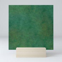 """Porstroke, Teal Shade Pattern"" Mini Art Print"