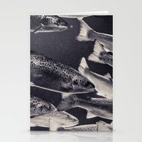 swim Stationery Cards featuring Swim by Marte Stromme