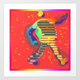 WALK TALL Art Print