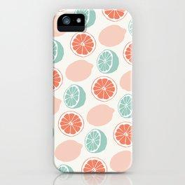 Mint lemonade iPhone Case