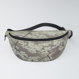 hawthorn blossoms Fanny Pack