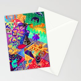 4th and a Half Dimension Stationery Cards