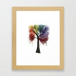 Happy Tree Framed Art Print