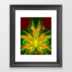 Hidden soul Framed Art Print