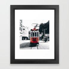 Istanbul - Taksim Framed Art Print