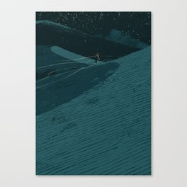 Dune Time Canvas Print