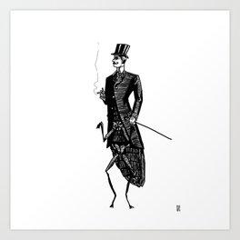 Like a Sir Art Print