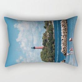 Blue Together Rectangular Pillow